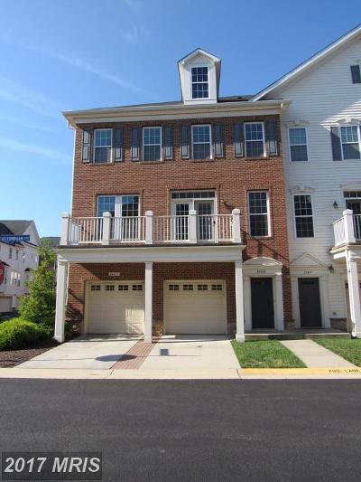 Aldie Townhouse For Sale: 24669 Buttonbush Terrace