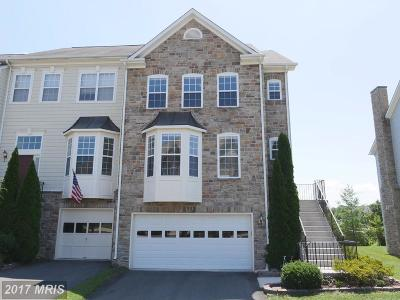 Leesburg Townhouse For Sale: 843 Ferndale Terrace NE