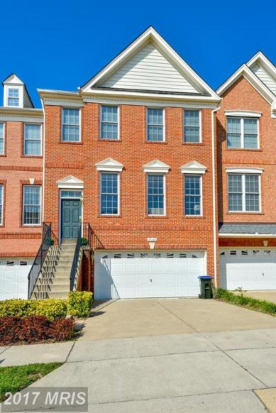 Chantilly Townhouse For Sale: 25225 Bald Eagle Terrace