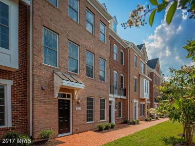 Leesburg Townhouse For Sale: 418 Haupt Square