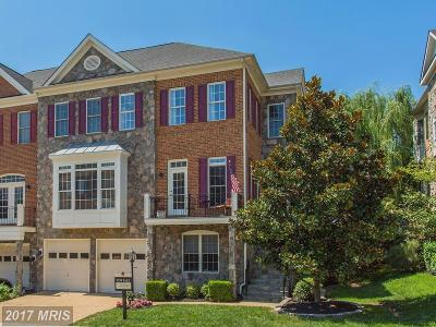 Leesburg Townhouse For Sale: 43694 Lees Mill Square