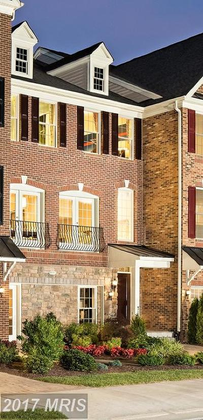 Chantilly Townhouse For Sale: 25061 Cambridge Hill Terrace