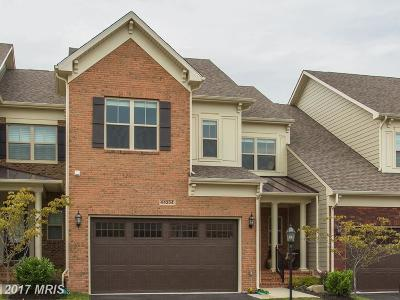 Leesburg Townhouse For Sale: 44254 Mimosa Grove Square