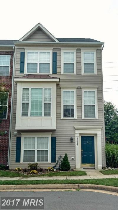 Ashburn Townhouse For Sale: 44283 Suscon Square