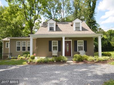 Purcellville Single Family Home For Sale: 37203 Snickersville Turnpike
