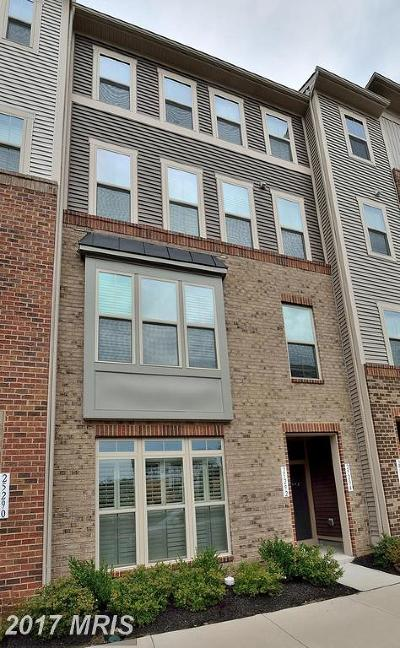 Aldie Townhouse For Sale: 25294 Gray Poplar Terrace