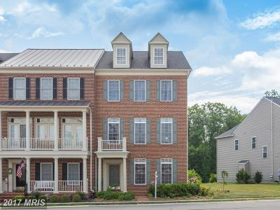 Leesburg Townhouse For Sale: 22476 Dinah Place