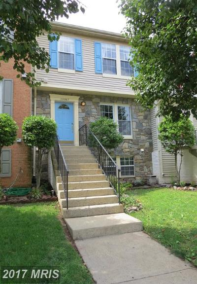 Loudoun Townhouse For Sale: 20967 Rootstown Terrace