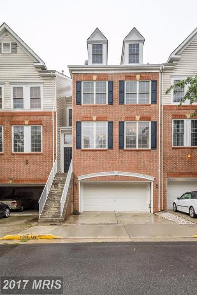 Loudoun Townhouse For Sale: 46189 Cecil Terrace