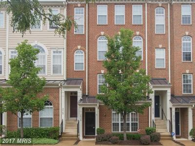 Aldie Townhouse For Sale: 24746 Stone Station Terrace