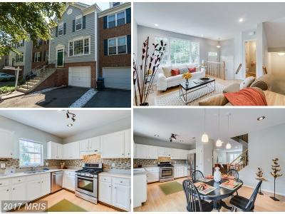 Chantilly Townhouse For Sale: 42887 Golf View Drive