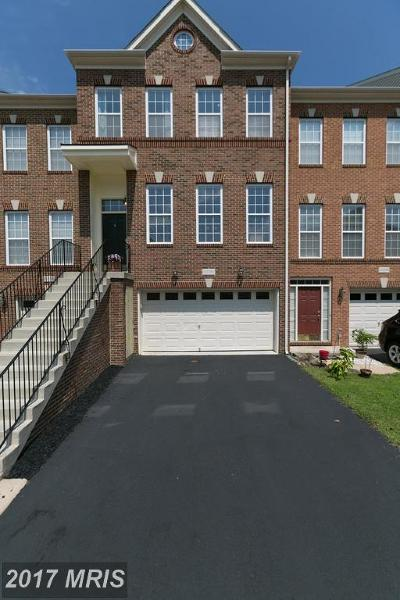 Aldie Townhouse For Sale: 42094 Tanzanite Terrace