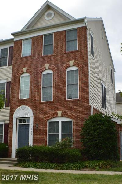 Chantilly Townhouse For Sale: 42780 Longworth Terrace