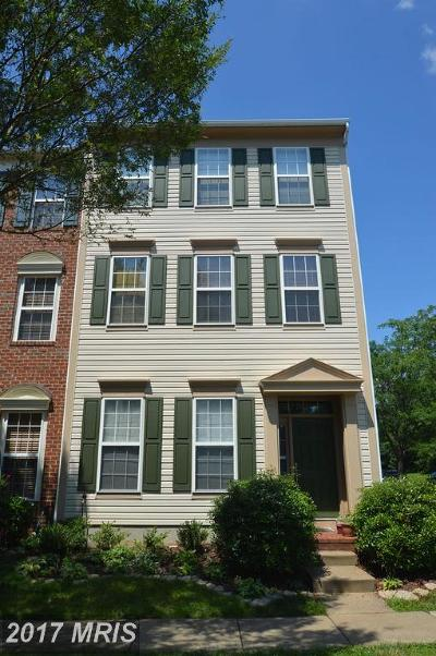 Chantilly Townhouse For Sale: 25543 Donegal Drive