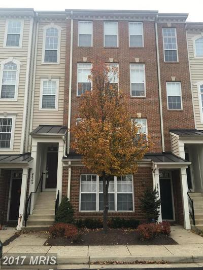 Aldie Townhouse For Sale: 24762 Stone Station Terrace