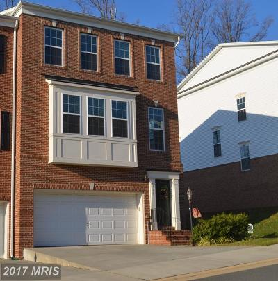 Leesburg Townhouse For Sale: 337 Caldwell Terrace SE