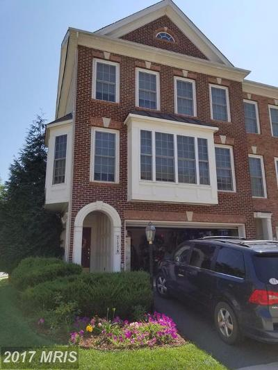 Ashburn Townhouse For Sale: 21770 Ladyslipper Square