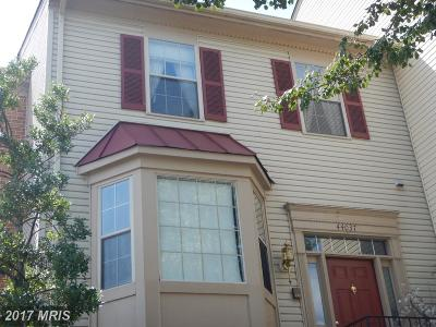 Ashburn Townhouse For Sale: 44037 Florence Terrace