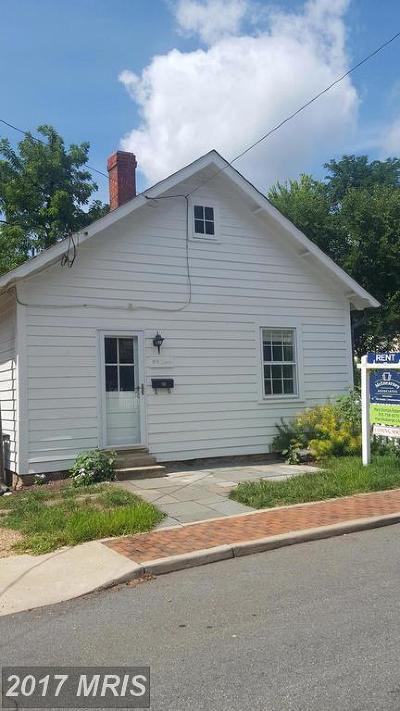 Loudoun Rental For Rent: 19 Liberty Street NW
