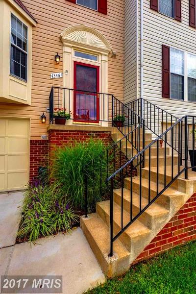 Ashburn Townhouse For Sale: 43461 Postrail Square