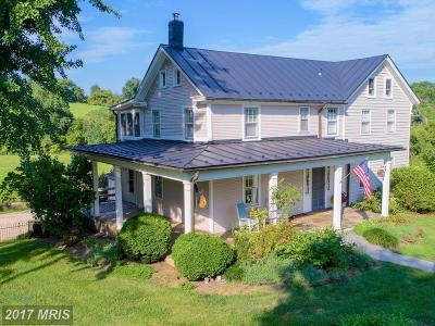 Single Family Home For Sale: 15707 Clarkes Gap Road