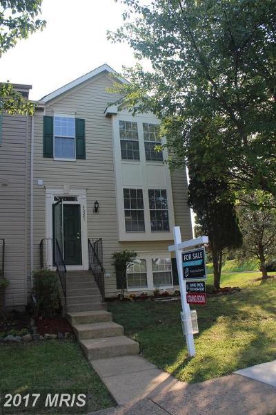 Ashburn Townhouse For Sale: 43281 Railstop Terrace