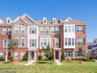 Chantilly Townhouse For Sale: 43595 Taylor Tree Terrace