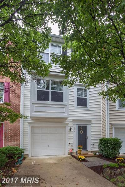 Leesburg Townhouse For Sale: 504 Sparkleberry Terrace NE