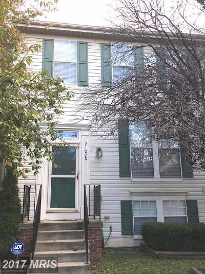 Ashburn Townhouse For Sale: 21020 Strawrick Terrace