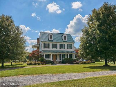 Loudoun Single Family Home For Sale: 34753 Snickersville Turnpike