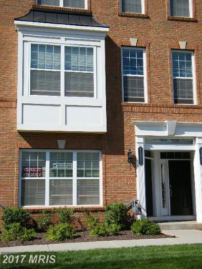 Ashburn Townhouse For Sale: 43039 Clarks Mill Terrace