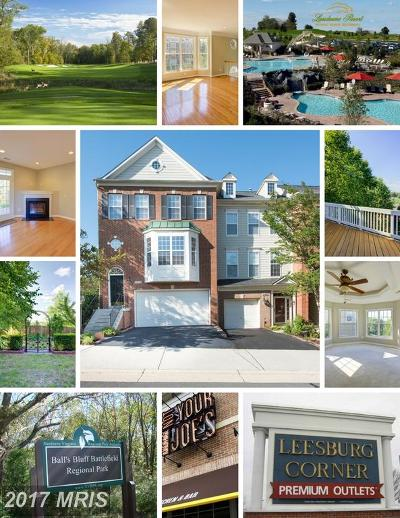 Loudoun Townhouse For Sale: 43764 Lees Mill Square