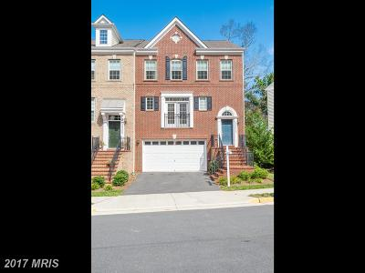 Loudoun Townhouse For Sale: 20223 Center Brook Square