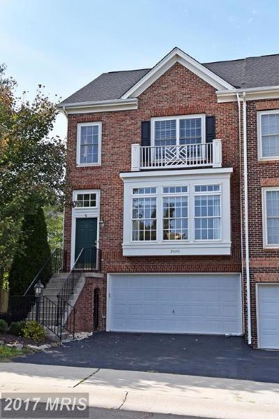 Aldie Townhouse For Sale: 24645 Kings Canyon Square