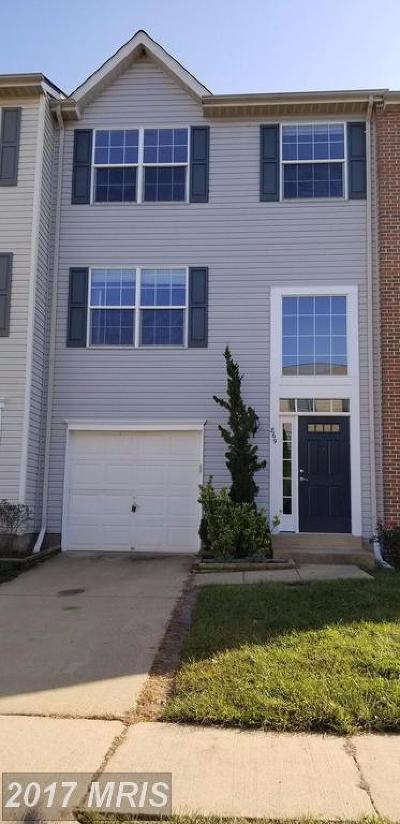 Leesburg Townhouse For Sale: 869 Vanderbilt Terrace SE