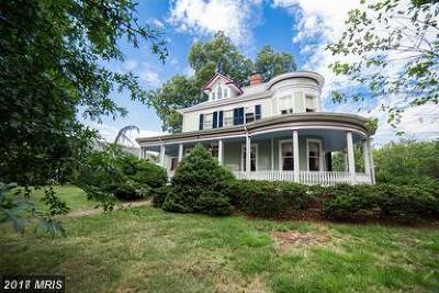 Round Hill Single Family Home For Sale: 8 E Loudoun Street
