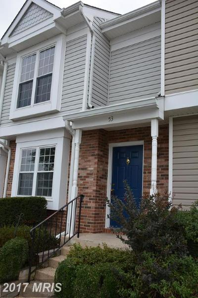 Sterling Townhouse For Sale: 53 Essex Square