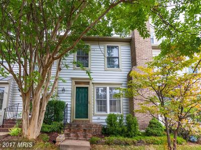 Ashburn Townhouse For Sale: 20088 Crew Square