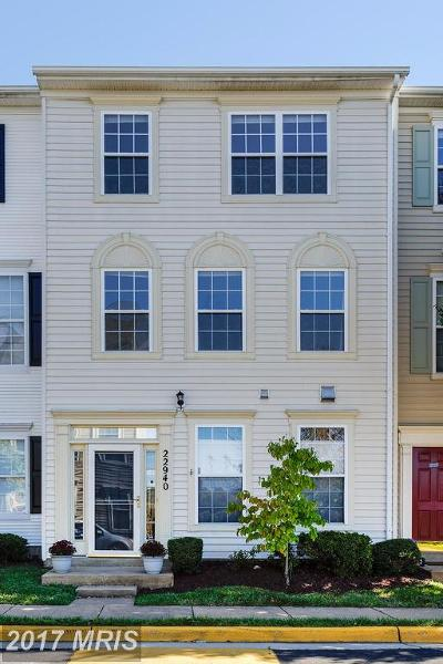 Sterling Townhouse For Sale: 22940 Adelphi Terrace