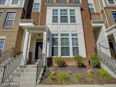 Loudoun Townhouse For Sale: 43463 Town Gate Square