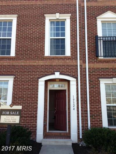 Leesburg Rental For Rent: 19324 Gardner View Square