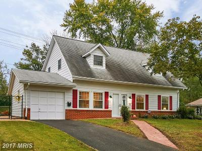 Loudoun Single Family Home For Sale: 1009 Ironwood Road
