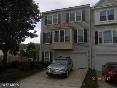 Ashburn Townhouse For Sale: 43782 Brookline Terrace