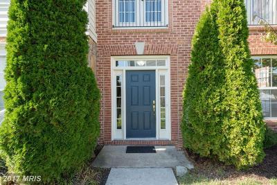 Ashburn Townhouse For Sale: 22978 Fox Fire Terrace