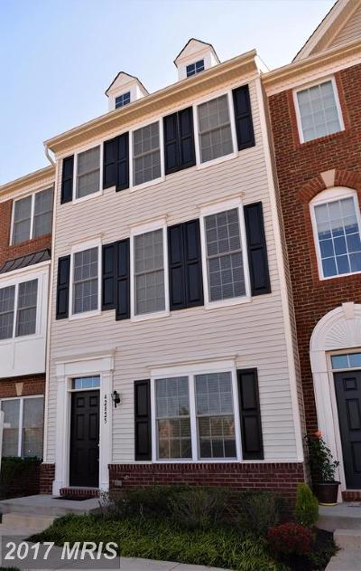 Chantilly Townhouse For Sale: 42825 Eggleston Terrace #83D