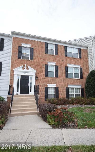 Leesburg Condo For Sale: 119 Prosperity Avenue SE #C
