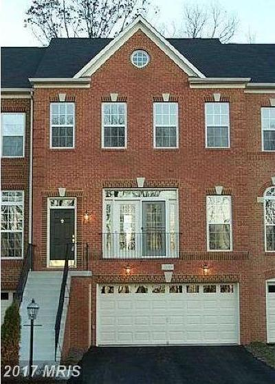 Aldie Townhouse For Sale: 24744 Carbonate Terrace