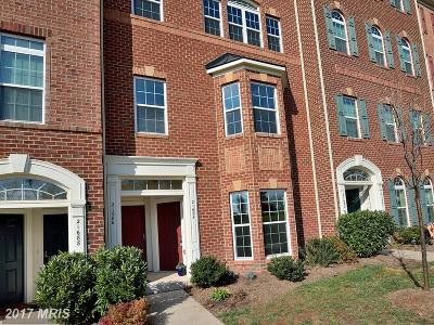 Ashburn Townhouse For Sale: 21684 Pattyjean Terrace