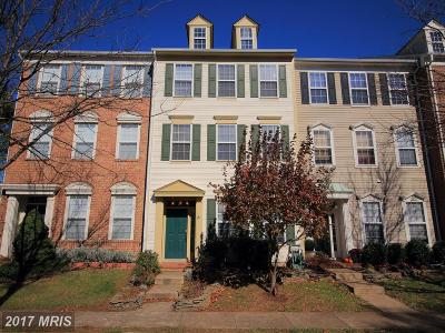 Chantilly Townhouse For Sale: 42788 Cedar Hedge Street