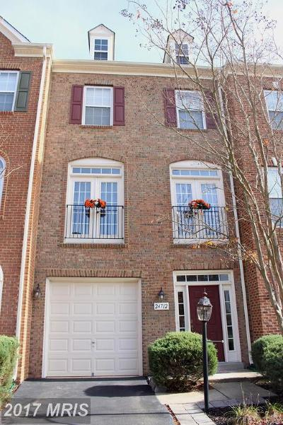 Aldie Townhouse For Sale: 24712 Kings Canyon Square